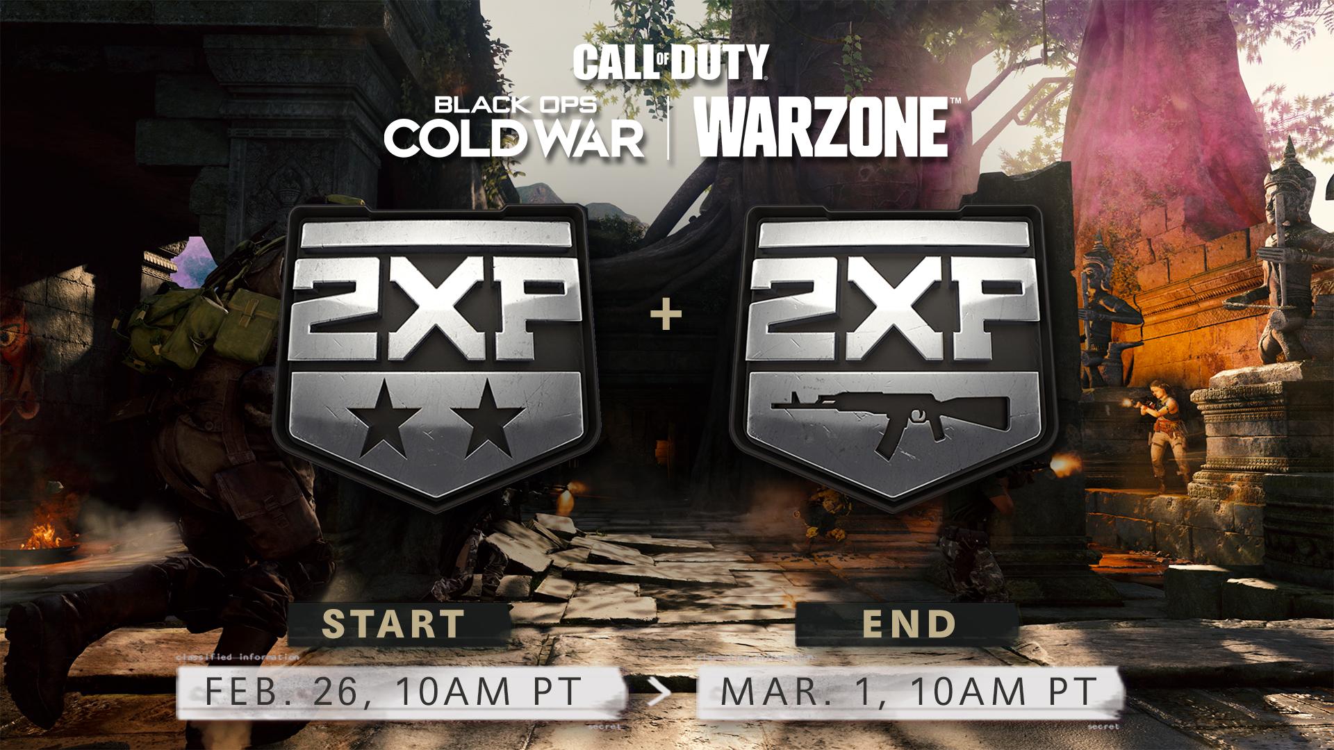 Warzone Double XP image