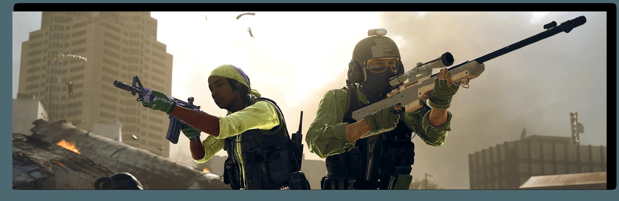Banner image of Operators preparing for battle.