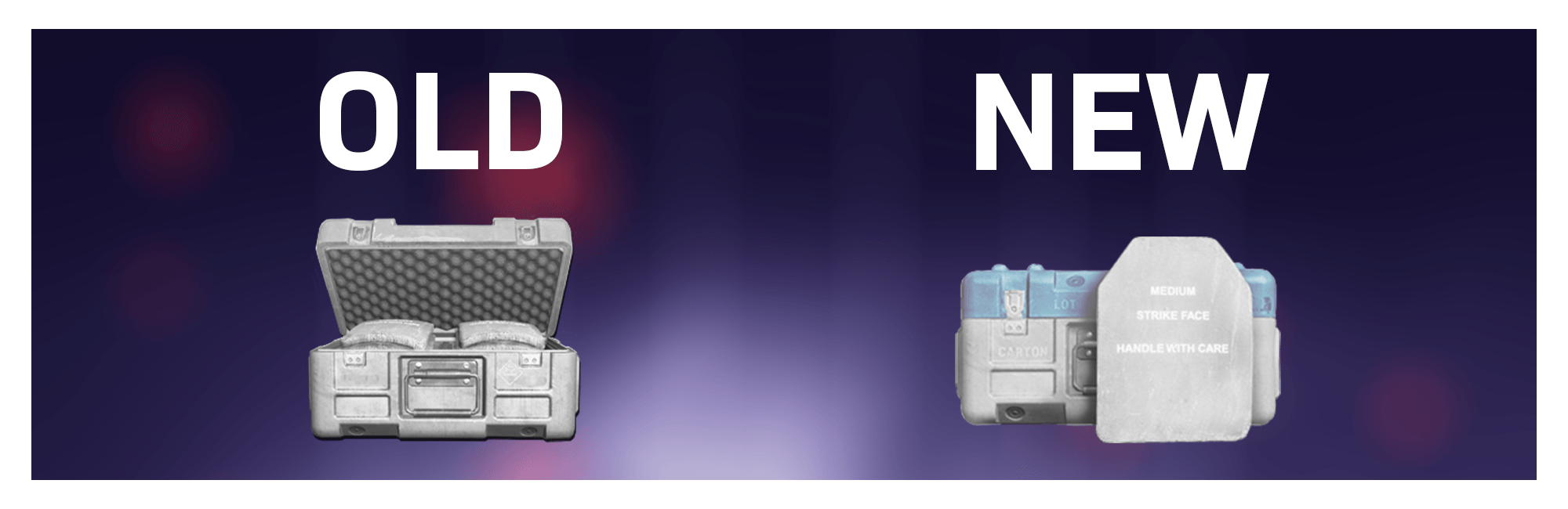 Banner showing the old and new icons for Armor Boxes.