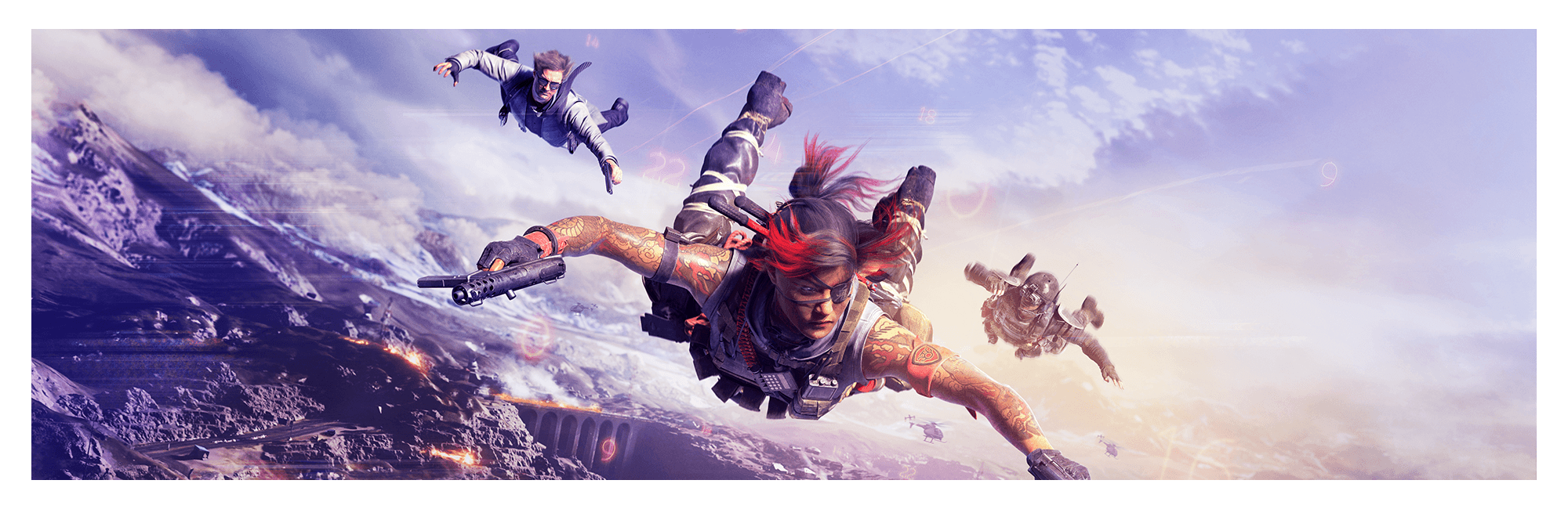 Banner image of operators dropping into Verdansk.