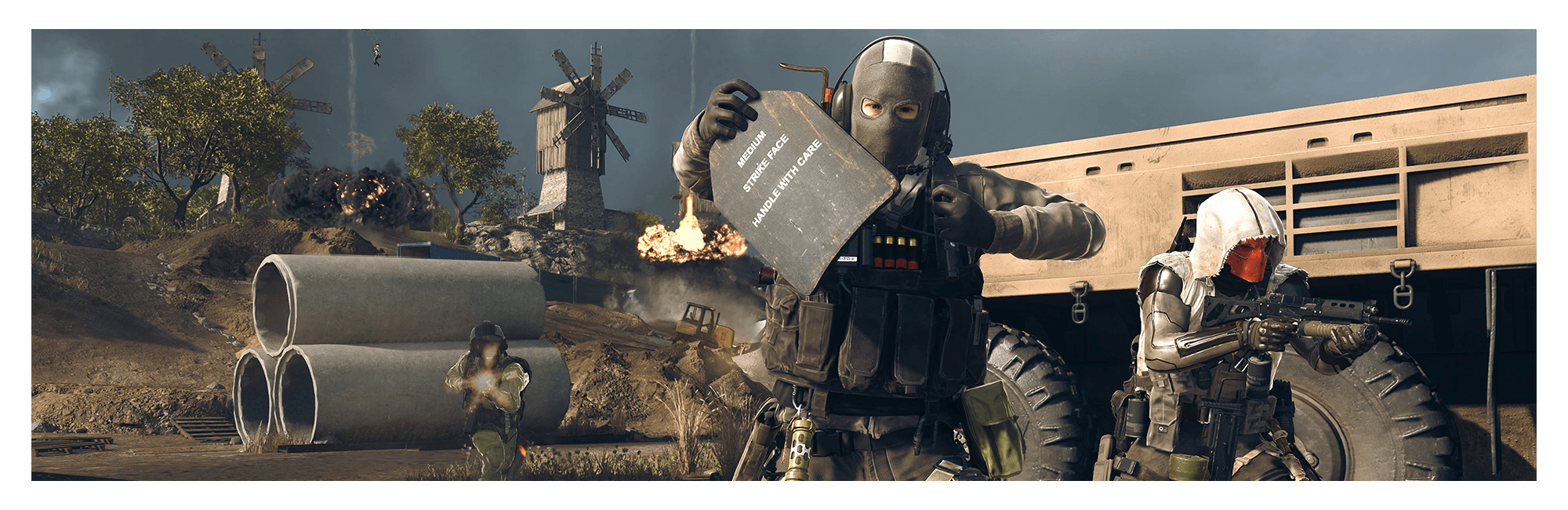 Banner image of an operator equipping armor plates using the new Tempered perk.