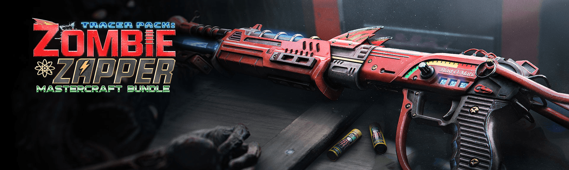 The bundle for the new Zombie Zapper skin